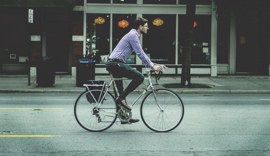 自転車通勤 自転車通学 トイレを探す トイレまで我慢