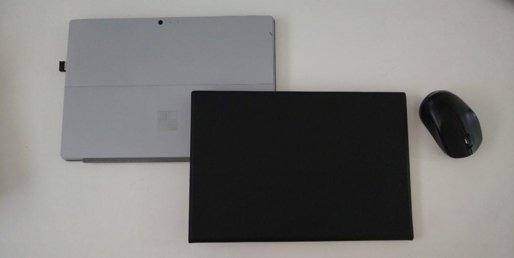 surfacepro6とサイズ比較